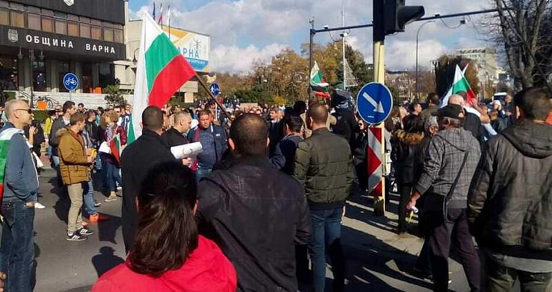 Във Варна тази вечер в 18,30 часа се организира протест