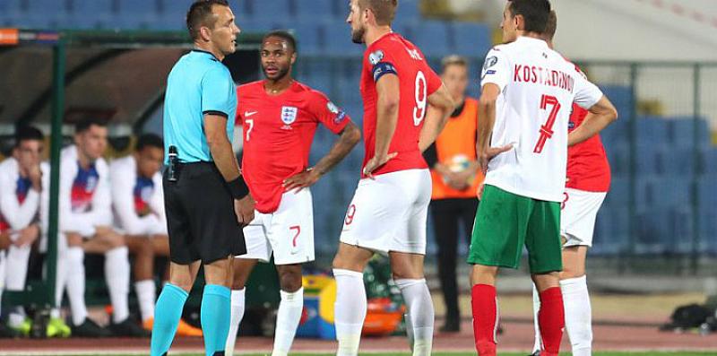 Англичаните си поиграха с нашия национален отбор по футбол. Вкараха