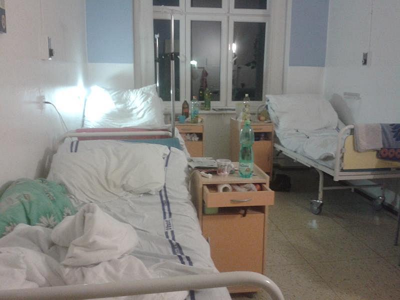 Болниците в града са буквално пълни. Необходимо е да се