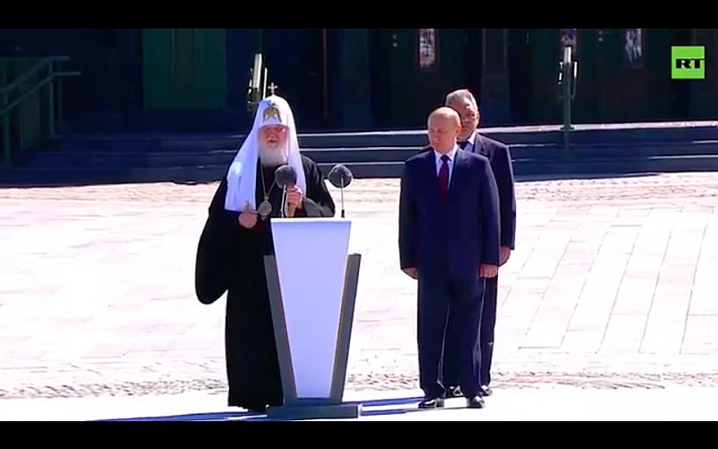 Нечувана глупост изтърси руският патриарх Кирил при отбелязване трагичната дата