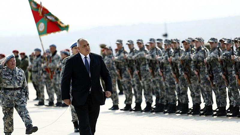 Премиерът Бойко Борисов участва в ритуала за полагане на военна