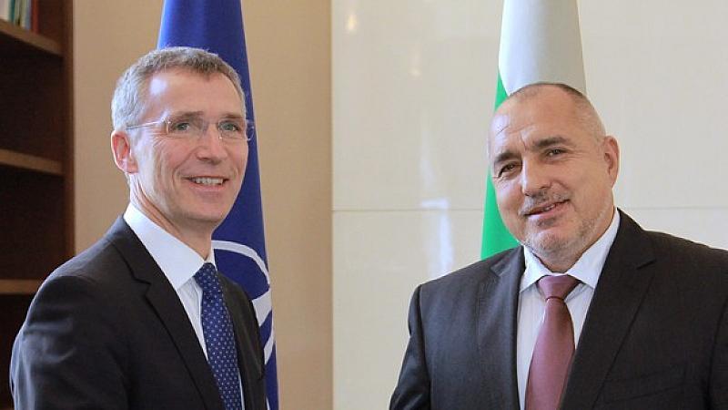 В телефонен разговор с генералния секретар на НАТО Йенс Столтенберг