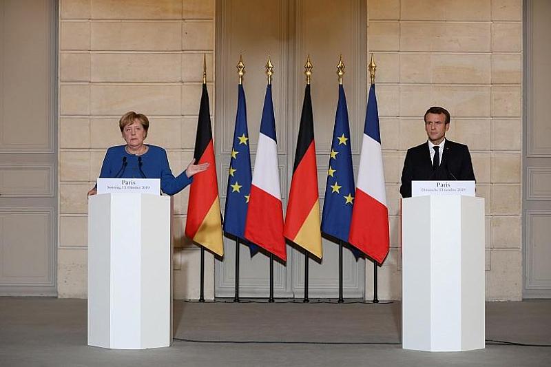 Германският канцлер Ангела Меркел отхвърли мнението на френския президент Еманюел