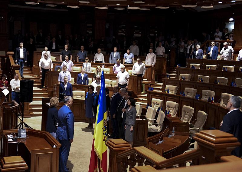 Днес парламентът на Молдова утвърди бившия финансов министър Йон Кику