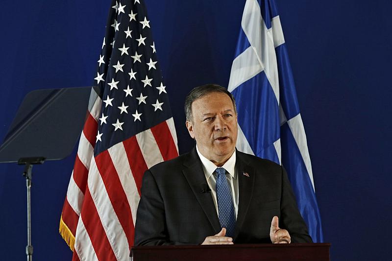 Държавният секретар на САЩ Майк Помпео изрази загриженост от напрежението