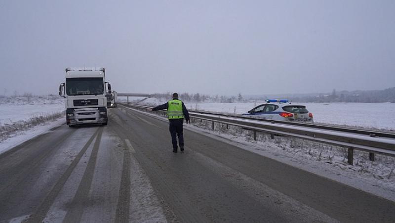 Снимка: Зимният режим за поддържане на републиканските пътища влиза в сила от утре