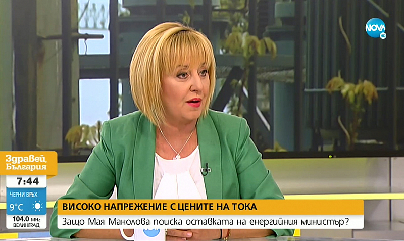 """Според нея е необходим смел министър на енергетиката, който """"да"""