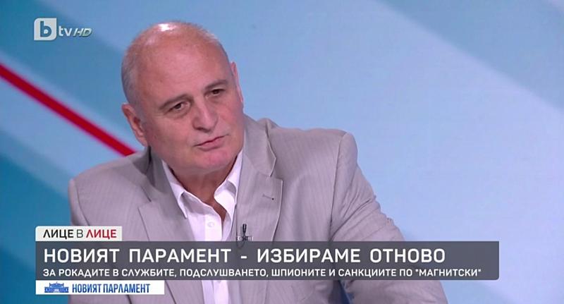 """Това коментира в предаването """"Лице в лице"""" по bTV проф."""