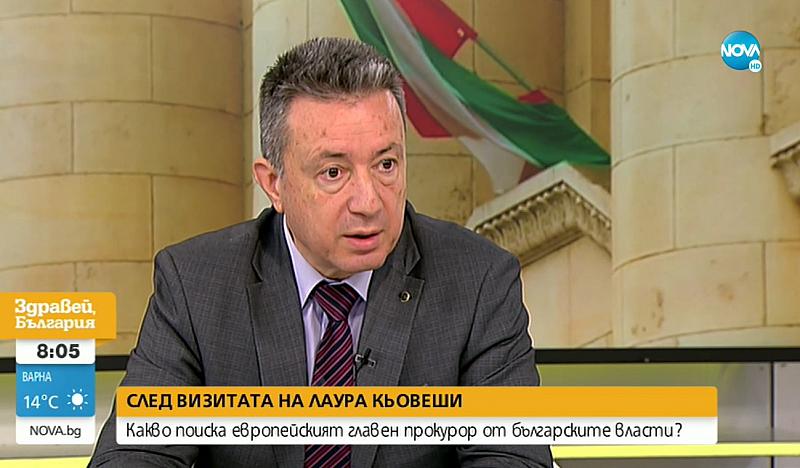"""""""Обсъдихме и други думи, които засягат правната система в България,"""