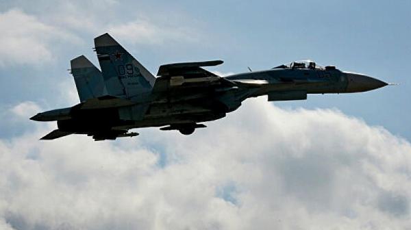 Руски самолет Су-27 се разби в Черно море
