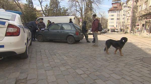 Инцидент с агресивен ротвайлер в София
