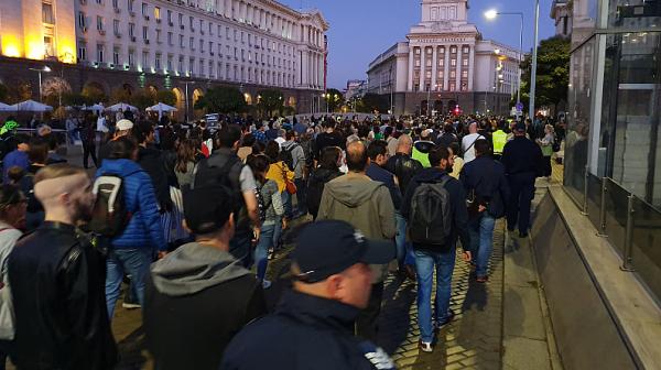 Многохиляден протест срещу номинацията на Гешев за главен прокурор