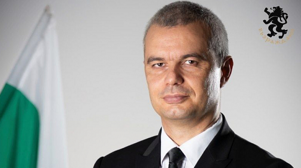 Поредна демонстрация на властимащите срещу народа беше преустановена от Костадин Костадинов