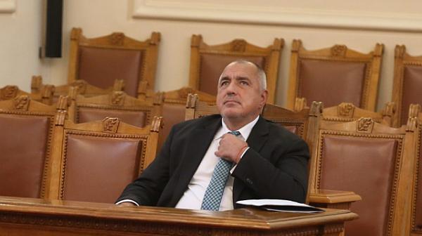 Извънредно изслушват Борисов в парламента в четвъртък